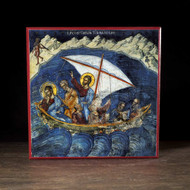 Calming of the Sea (Athos) Icon - F239