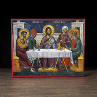 The Supper at Emmaus (Athos) Icon - F240