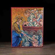 Christ Saving Peter Icon - F115