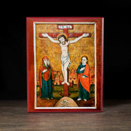 Crucifixion of Christ Icon - F119