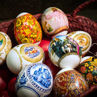 Easter Egg Wraps