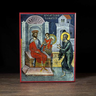 Joseph of Arimathea Requests the Body of Jesus (Athos) Icon - F247