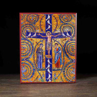 Crucifixion of Christ (Mosaic) Icon - F122