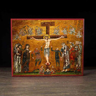 Crucifixion of Christ (Mosaic) Icon - F123