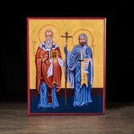Saints Cyril and Methodius Icon - S340