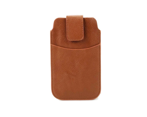 Brown Cell Phone Sleeve