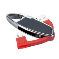 MicroUSB Mini Keychain