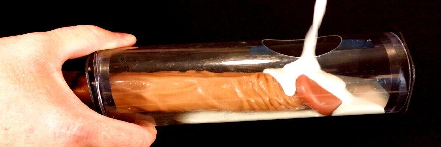 Penis mold to make dildo