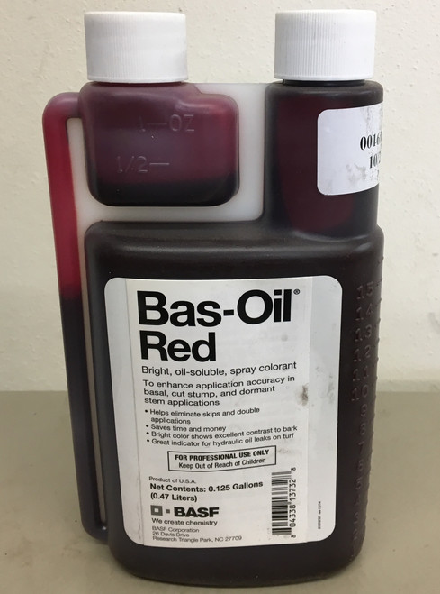 Bas-Oil Red Dye (1 Pint)