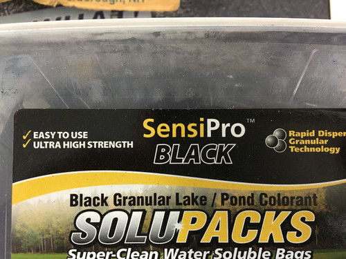 SensiPro- Black Pond Dye (10- 5 oz bags)