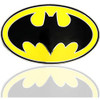 """The Dark Knight Rises /DC COMICS Batman black and yellow LICENCED Belt Buckle"