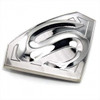 """DC Comics Superman Licenced Belt Buckle/ Silver"