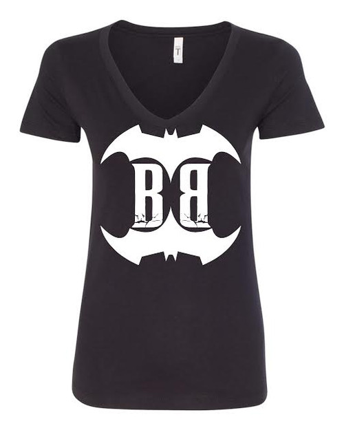 Awesome new Badass Shirt-This is the same shirt now worn by Brittany Razavi, our hottest design is sure to get your noticed. These are very high quality tees, and the ladies t-shirts are made to stretch for a sexy fit.