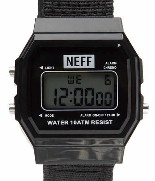 NEFF FLAVA XL Woven SURF-WATCH- black