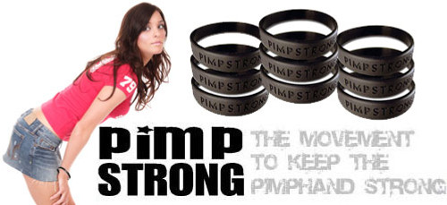 Pimp strong wristband