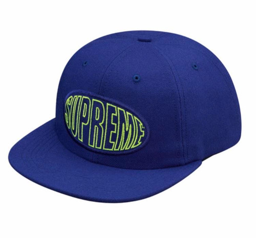 Supreme Warp 6-Panel Royal hat