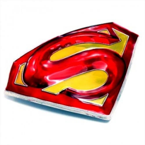 """DC Comics Superman Licenced Belt Buckle"