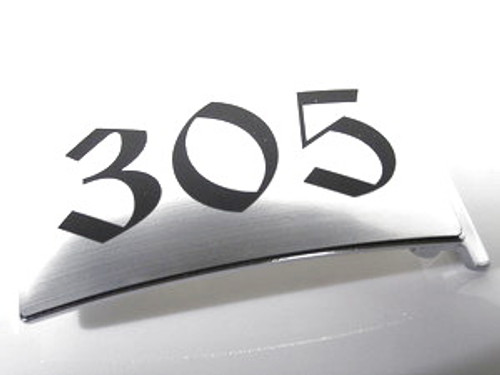 305 Miami  Area Code Aluminum cast belt buckle