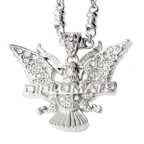 Classic Diplomats Silver Pendant