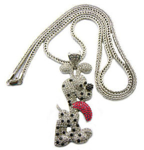 """ICED OUT ODIE PIECE PENDANT & FRANCO CHAIN"