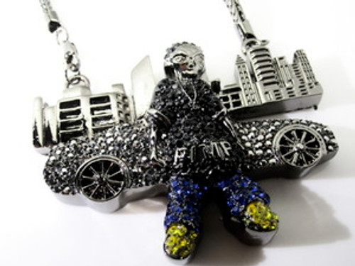 Boondocks Empire Skyline Iced Out Pendant