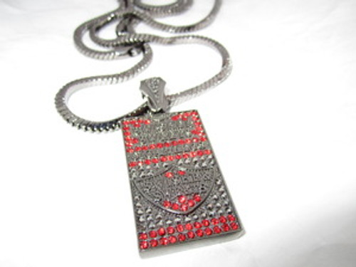 """Swisher Sweet red small box with FREE 36"" Black Franco chain"