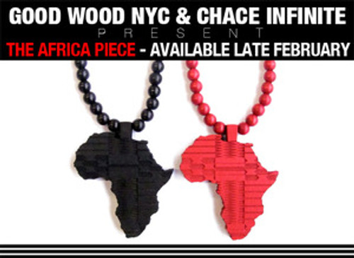 """Red & Black Good Wood Africa COMBO"