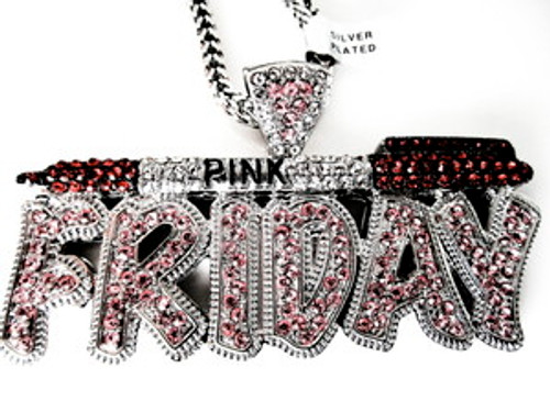 """NICKI MINAJ PINK FRIDAY PIECE-RED PEN=PENDANT W/FREE CHAIN"