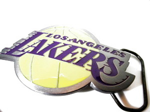 """LA Lakers Official Belt Buckle"