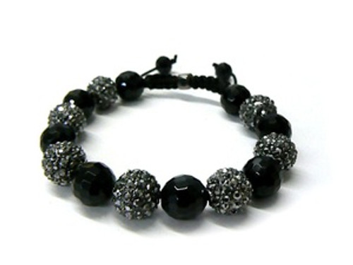 """LA Mens Collection Shambhala Bracelet MB_19HE"