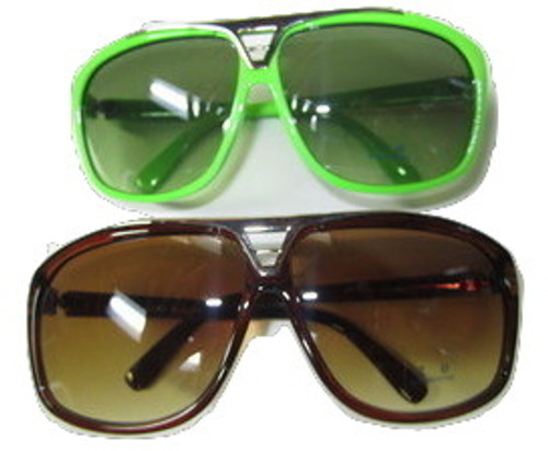 """WIZ KHALIFA Rapper Celebrity Sunglasses Tortose/NEON 2 Pack"