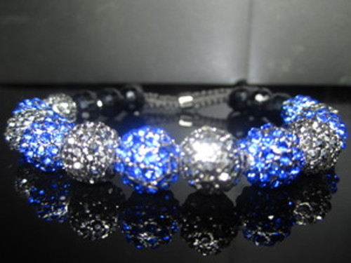 """B&B  Iced Out Shambhala Bracelet-w/FREE Gift Box"