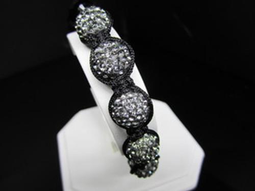 """""""1-GOTHAM BLACK DIAMOND Shambhala Bracelet/REG.$160 w/Gift BOX"""