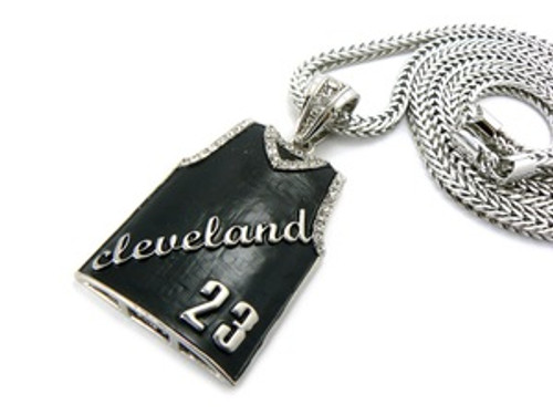 """Lebron James #23 Pendant w/FREE 36"" Chain"