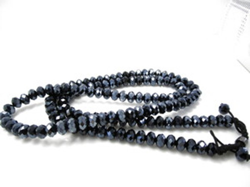"""NEW SHAMBHALA BLUE DIAMOND 36"" Chain"
