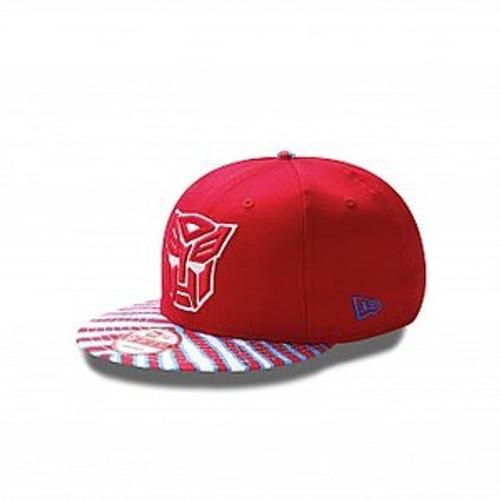 Transformers RED NEW ERA Snapback Cap | theblackbat