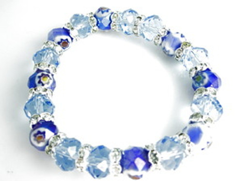 """Nicki Minaj Ice Princess Shambhala Bracelet"