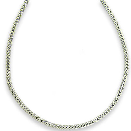 PLATINUM EDITION RHODIUM PLATED SERPENTIS CHAIN