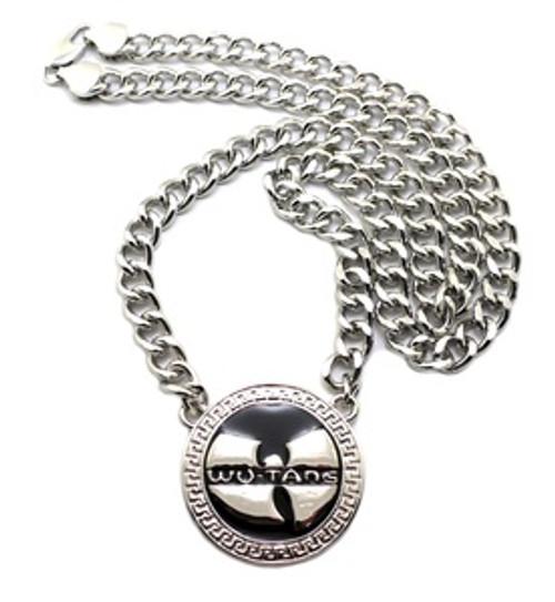 """1-WU-TANG Silver Pendant w/FREE 36"" Chain"