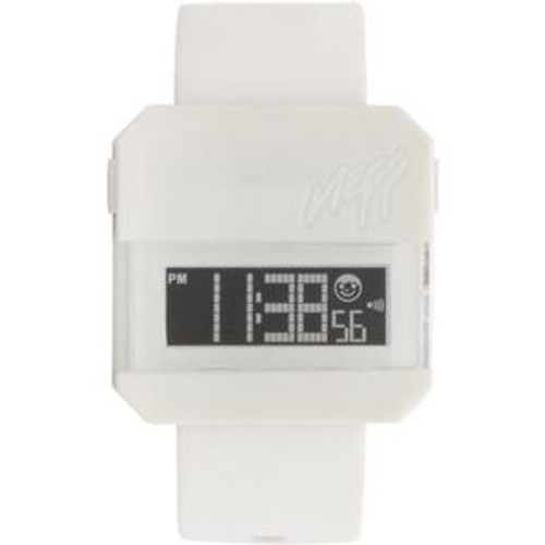 """Neff Digi Watch in White"