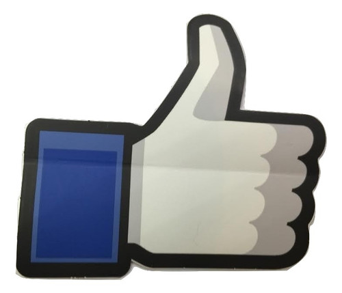"""1-Original Facebook Thumbs Up Sticker/ SHIPS FREE!"