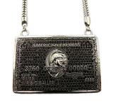 """""""PROMO-Black VIP CREDIT Pendant w/FREE 36"""" Chain"""