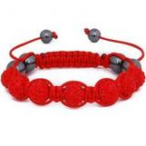 """""""COKE Red Jay-Z Shamballa Bracelet"""