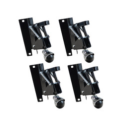 17200 Retractable Caster Kit, 4-Pack