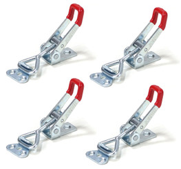 20311 Latch-Action Toggle Clamp, 220 lbs Capacity, 4001, 4-Pack