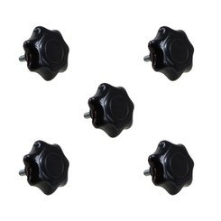 71073 7-Star Stud 5/16-18, 5-Pack