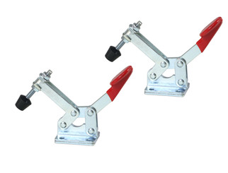 20322 Horizontal Quick-Release Toggle Clamp, 66 lbs Capacity, 20300, 2-Pack