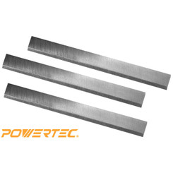 148020 6-1/8-Inch HSS Jointer Knives for Rigid JP0610, Set of 3