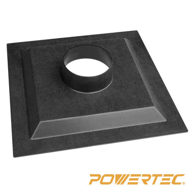 70131 12 inch table saw dust hood powertec for 12 inch table saw