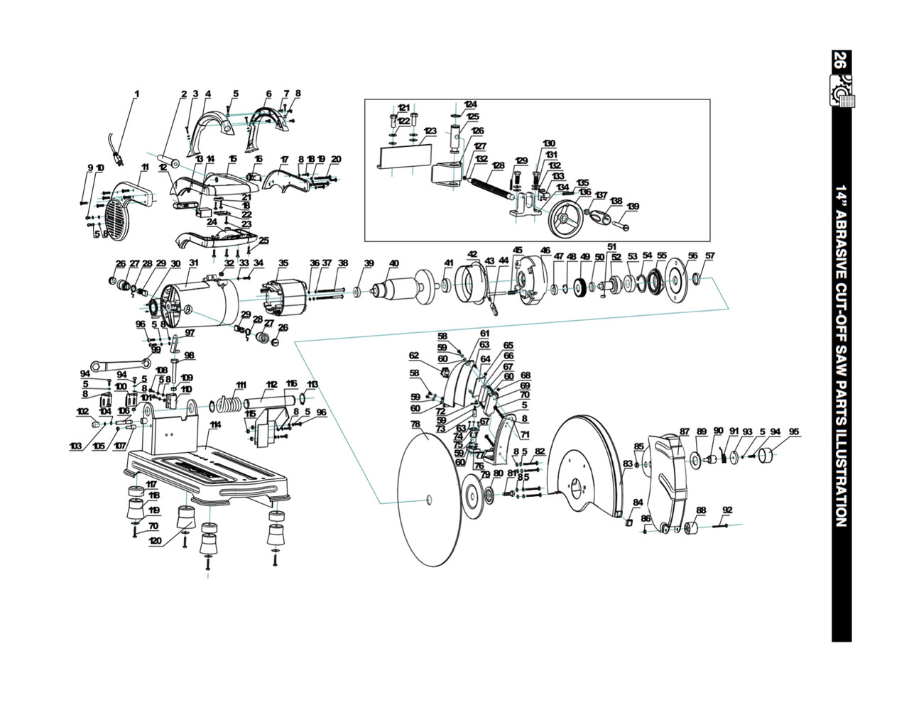 key 16 csl1400016 circuit breaker